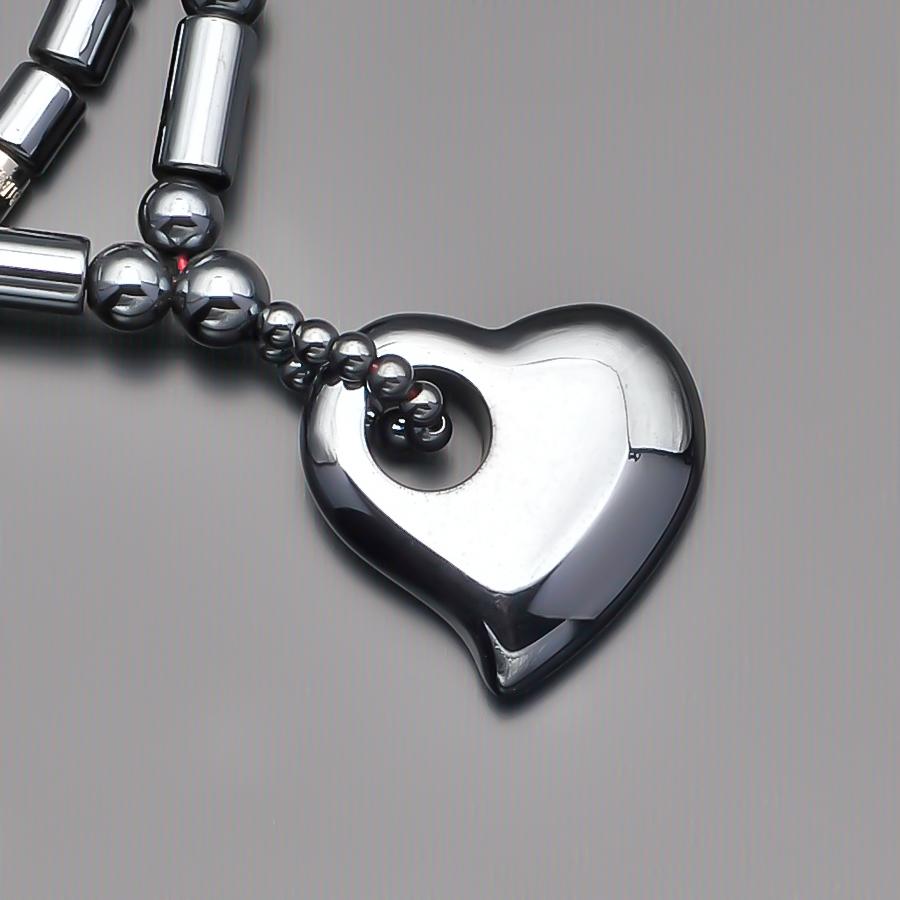 Чокер с подвеской сердце 7175