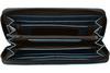 Портмоне Piquadro Blue Square, черное, 19x10x2,2 см