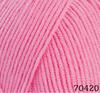 Пряжа Himalaya Everyday Bebe Lux 70420 (розовый)