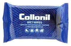Салфетки влажные Collonil №15 для текстиля очищающие с пятновыводителем