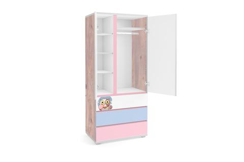 Шкаф Q-bix 33 Bubble Gum
