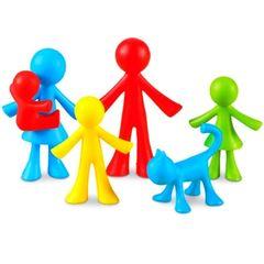 LER3660 Набор фигурок Моя семья 24 шт. Learning Resources