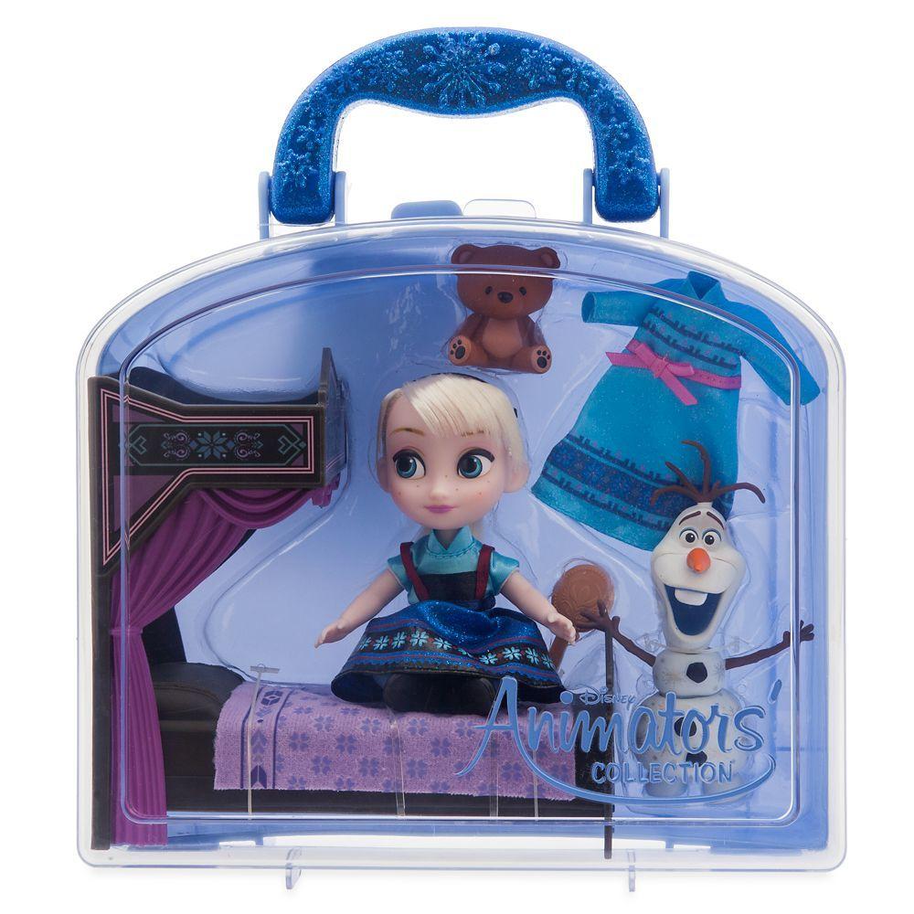 Набор кукольный Эльза в чемоданчике Disney Animators' Collection