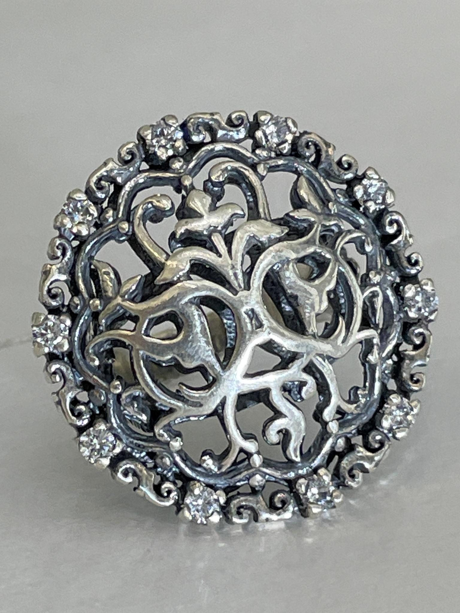 Самарканд (кольцо из серебра)