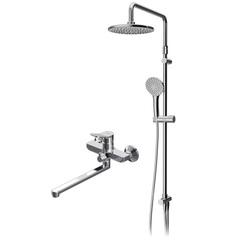 F40885A94 Набор X-Joy: душевая система, смеситель для ванны/душа излив 300 мм, хром, шт.