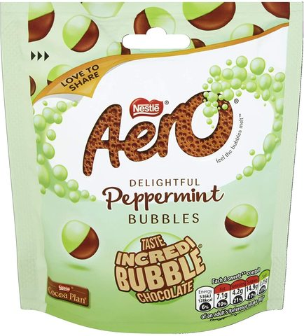 Aero peppermint bubbles 102 гр