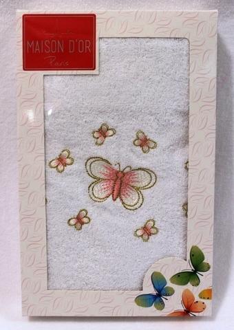 BUTTERFLY  БАТЕРФЛЯЙ полотенце махровое в коробке Maison Dor Турция