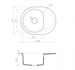 Схема Omoikiri Sakaime 60E-EV
