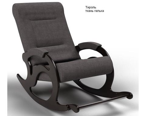 Кресло-качалка с подножкой Тироль (Модель 44) ткань