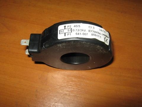 Трансформатор / CT 40/5A 1.5VA CLASS 3 RING NO FEET АРТ: 641-007
