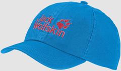 Кепка Jack Wolfskin Kids Baseball Cap sky blue (49-55см)