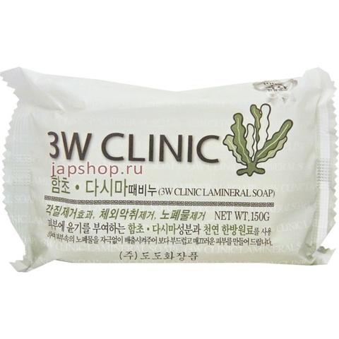 Очищающее Мыло С Бурыми Водорослями 3W CLINIC Dirt Soap Kelp
