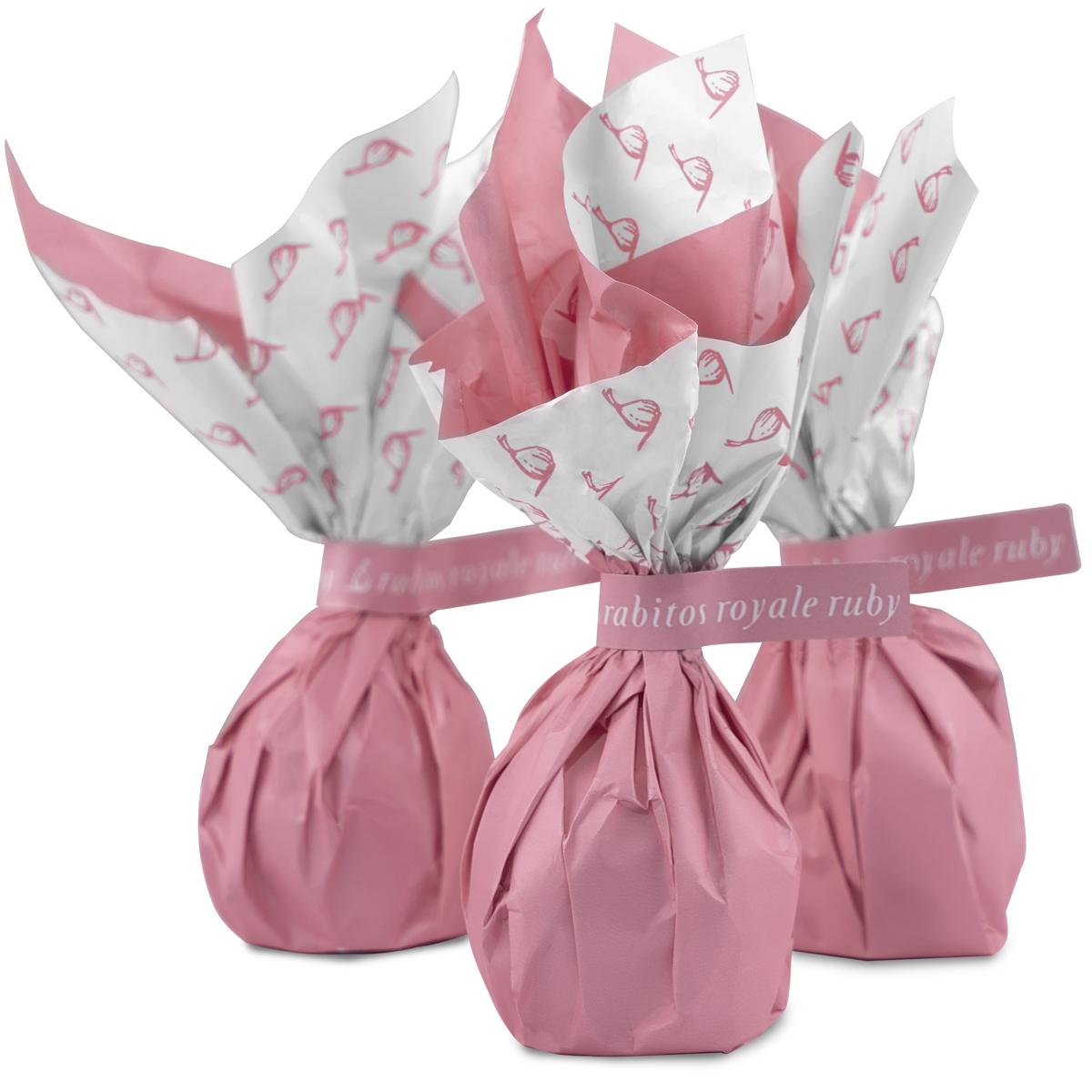 Конфеты Инжир в рубиновом шоколаде с трюфельной начинкой и ликером Marc de Cava Rabitos 47 г 3 конфеты