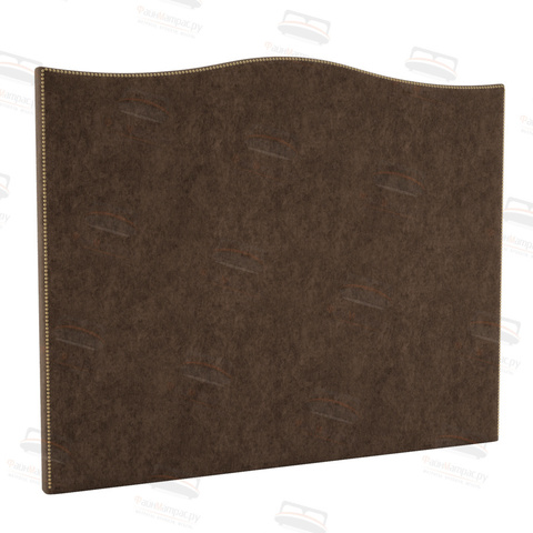 Микровелюр коричневая