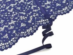 _Бретелечная резинка, без фестонов, 10мм, темно-синий, (Арт: BR640/10-061), м