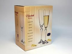 Набор бокалов для шампанского «Элизабет», 200 мл, фото 7