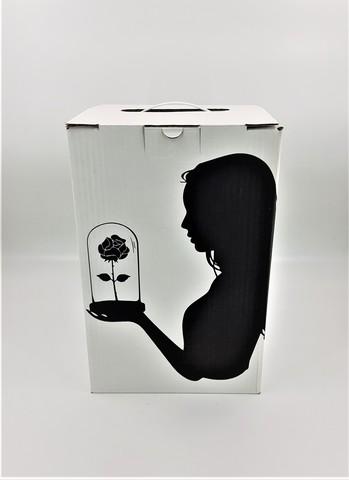 Подарочная коробка King, белая(35*22*23)