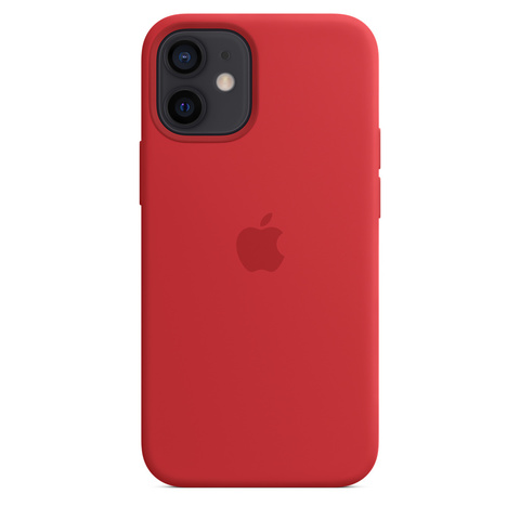 Apple Silicone Case на iPhone 12 Mini (PRODUCT)RED