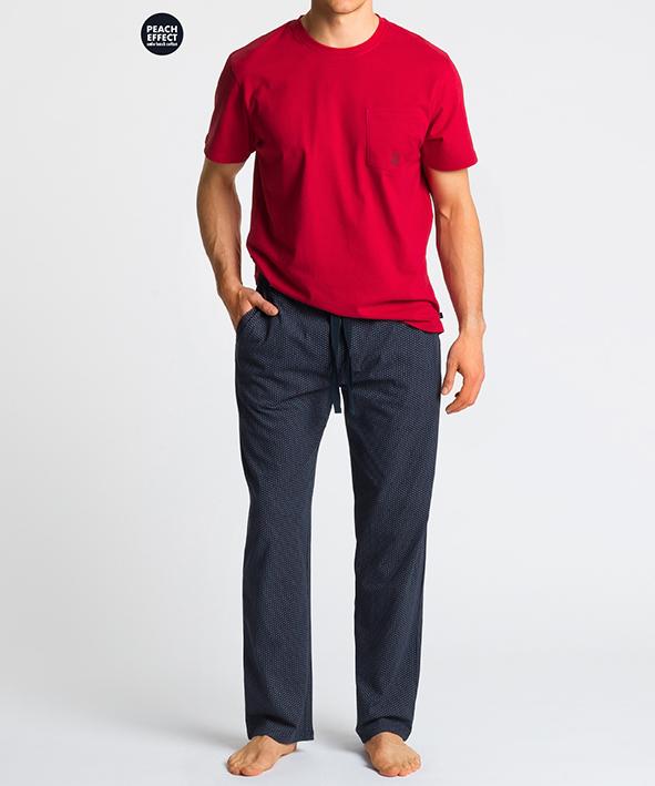 Пижама мужская с брюками NMP-347 100% хлопок CZE