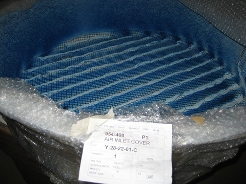 Крышка основного генератора LL9100 SERIES LEROY SOMER / AIR INLET COVER АРТ: 954-468