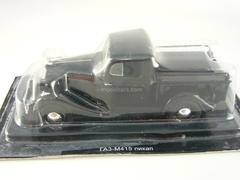GAZ-M415 black 1:43 DeAgostini Auto Legends USSR #78