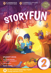 Storyfun for Starters 2nd Edition 2 Student's Book with Online Activities and Home Fun Booklet 2