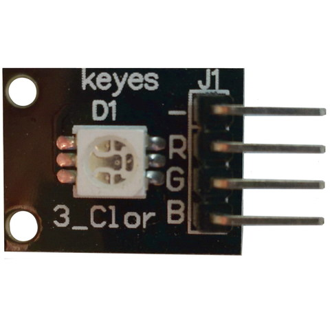 Модуль светодиода RGB-SMD 3-цветный KY-009 SMD RGB