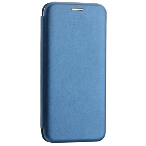 Чехол-книжка кожаный Innovation Case для Samsung Galaxy A30 Синий