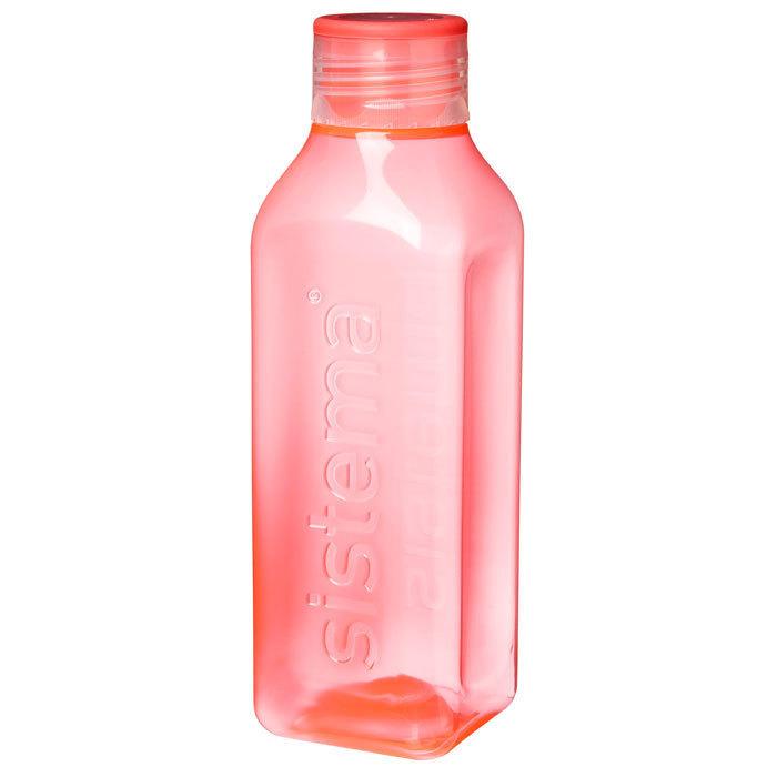 """Бутылка для воды Sistema """"Hydrate"""" 725 мл, цвет Красный"""
