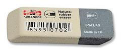 Ластик для графита и чернил серо-белый 6541/40, 57х20х8мм