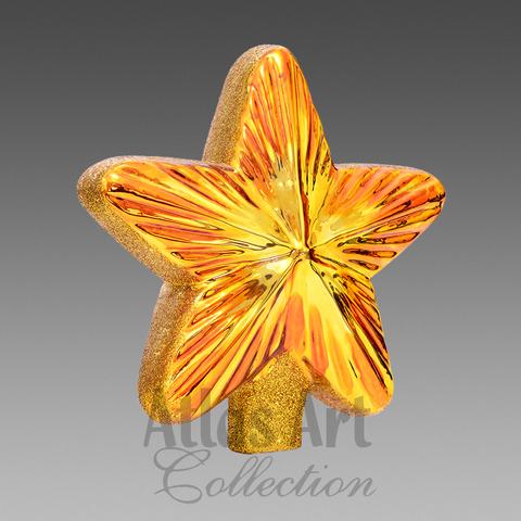 Макушка золотая звезда
