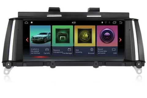 Магнитола  BMW X3 2011-2013 F25 (CIC) Android 8.1 2/32GB IPS модель MKD-B1015PX6