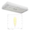 Аварийный светодиодный светильник IP65 серии SOLID Zone MIDBAY Teknoware