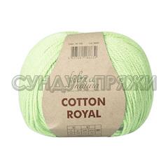 Cotton Royal 18-708 (Бледная фисташка)