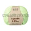 Пряжа Fibranatura Cotton Royal 18-708 (Бледная фисташка)
