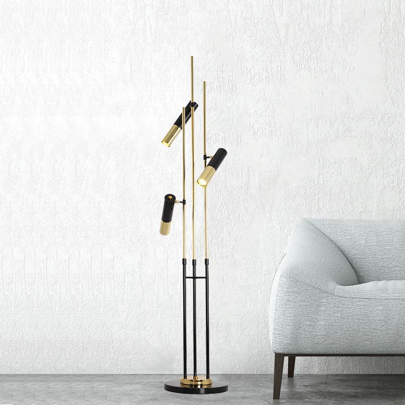 Напольный светильник копия Ike by Delightfull (10 плафонов)