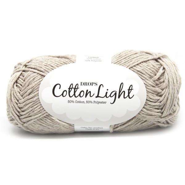 Пряжа Drops Cotton Light 21 светло-бежевый