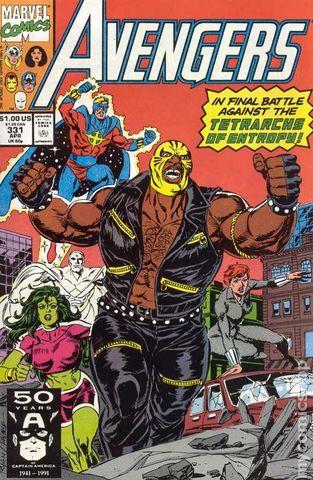 The Avengers #331