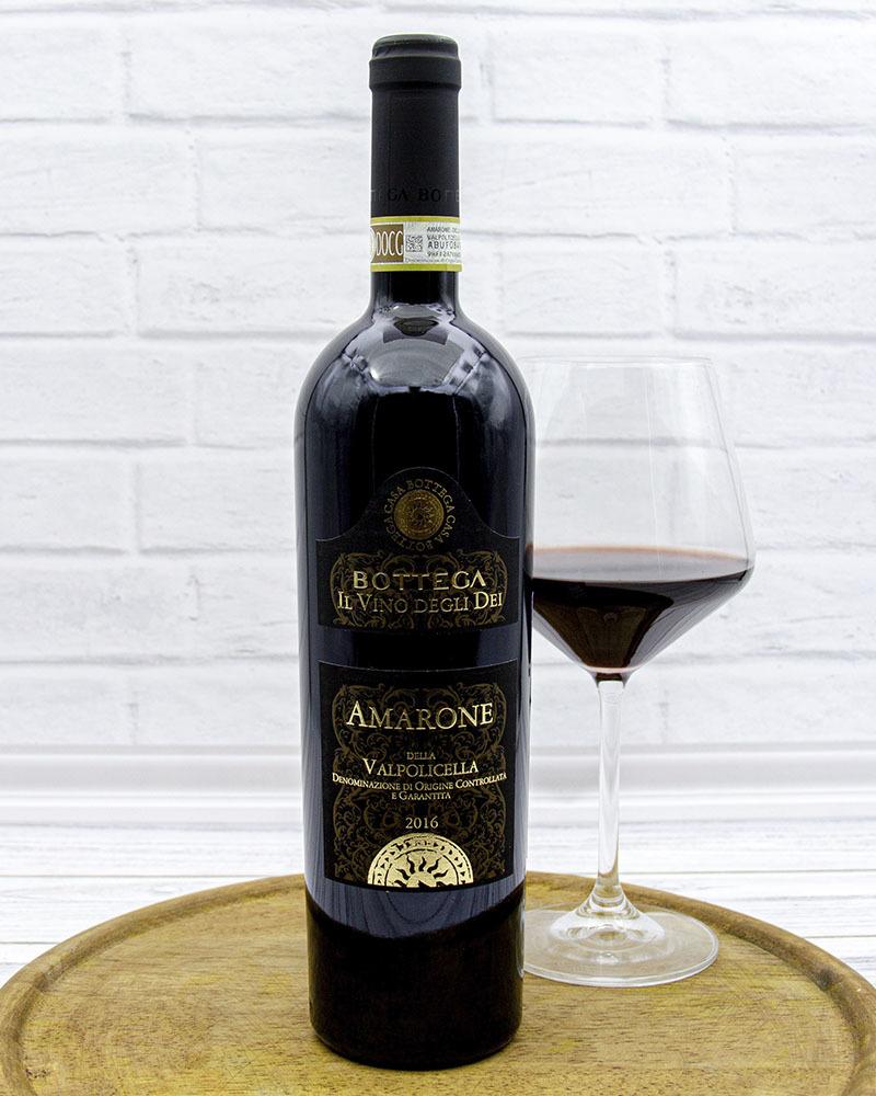 Вино Красное Сухое Bottega Амароне Делла Вальполичелла 16%, 0,75 л.