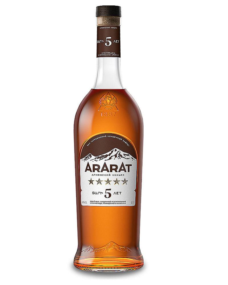 Коньяк Ararat 5 лет 40%, 0,7 л.