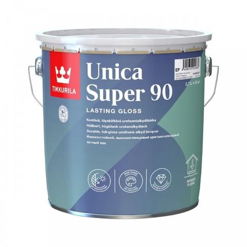 Tikkurila Unica Super 90 / Тиккурила Уника Супер износостойкий уретано-алкидный лак глянцевый
