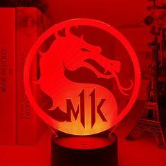 3D светильник с пультом Мортал Комбат