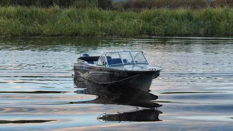Ветровое стекло «Премиум-А» для лодки «Казанка 2М»