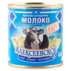 """Молоко сгущенное """"Алексеевское"""", 380 г"""