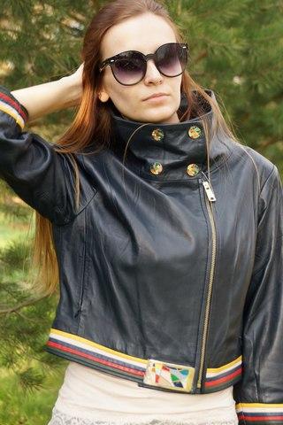 Укороченная куртка Gian Luca