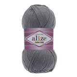 Пряжа Alize Cotton Gold серый 87