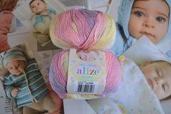 №4006 белый-розовый-сиреневый-желтый