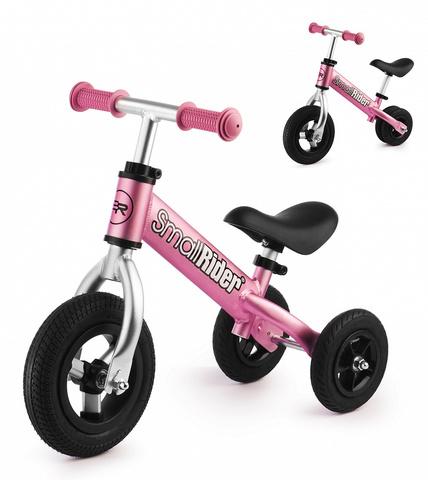 Беговел-каталка для малышей (розовый)
