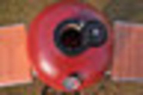 Керамический гриль Monolith Junior S малый (красный)