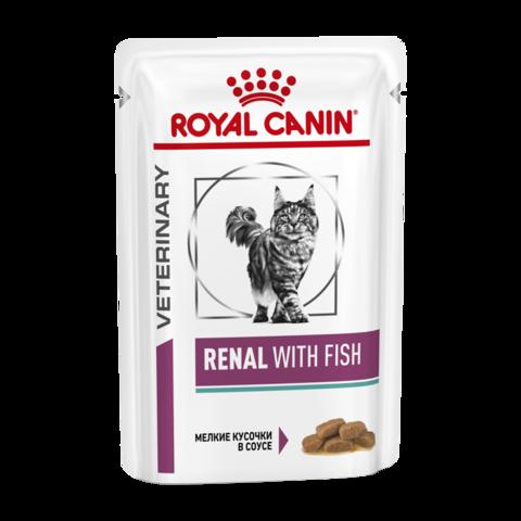 Royal Canin Renal S/O Консервы для кошек с хронической почечной недостаточностью с тунцом